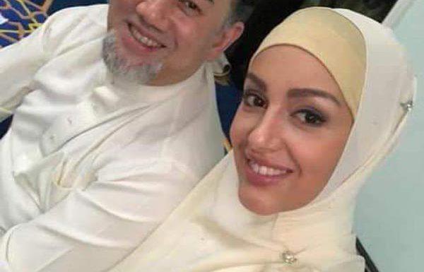 Оксана Воеводина и бывший король Малайзии Мухаммад V ждут первенца