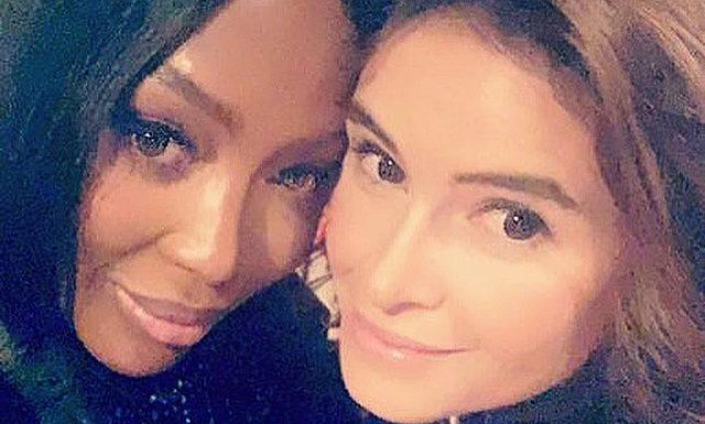 Помирились: Мирослава Дума опубликовала в соцсети дружественный кадр с Наоми Кэмпбелл