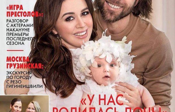 47-летняя Анастасия Заворотнюк родила дочку