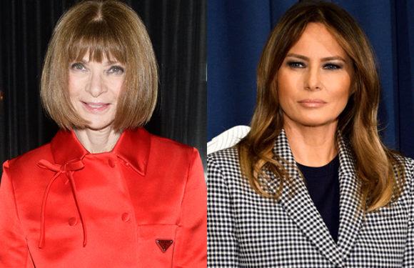 Анна Винтур объяснила, почему она против Мелании Трамп в Vogue. Белый дом ей ответил