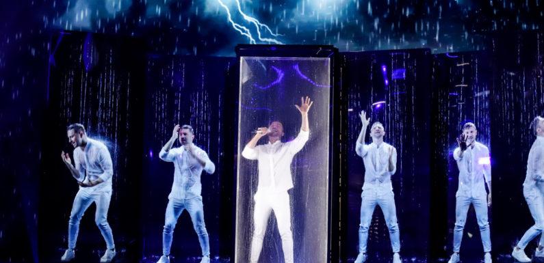 Лазарев о репетиции на Евровидении: Это мои страхи, мои сожаления, мои крики! (видео, фото)
