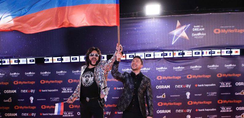 Лазарев и Киркоров прошли по оранжевой дорожке открытия «Евровидения 2019»