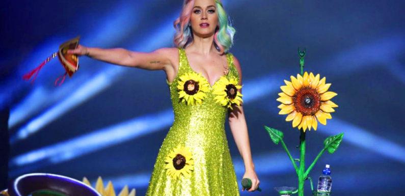 Katy Perry после молчания выпустила клип Never Really Over
