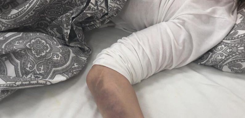 МакSим записала из больницы обращение к поклонникам