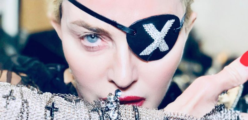 Madonna сняла клип против права на оружие