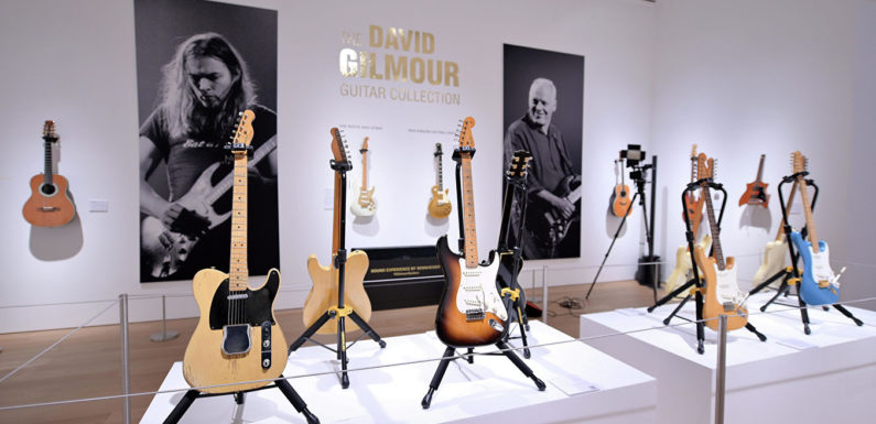 Гитары Дэвида Гилмора проданы за рекордные 21,5 млн долларов
