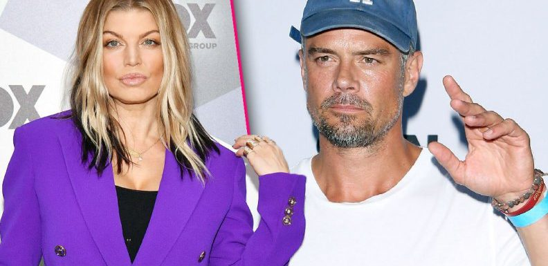 Fergie подала на развод с Дюамелем