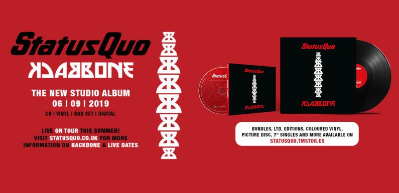 Status Quo объявили дату выхода альбома «Backbone»