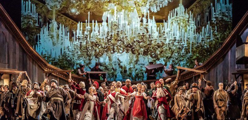 Welsh Opera House на сцене Ковент-Гардена: И мир, и война