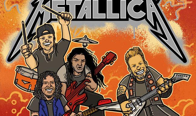 Metallica выпустит детскую книгу