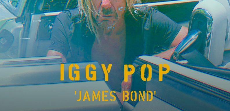 Iggy Pop спел про Джеймса Бонда в женском образе