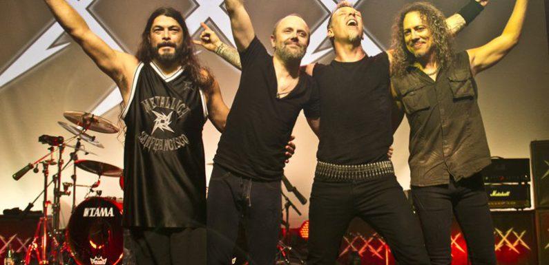 Metallica сыграла «Группу крови» в Москве