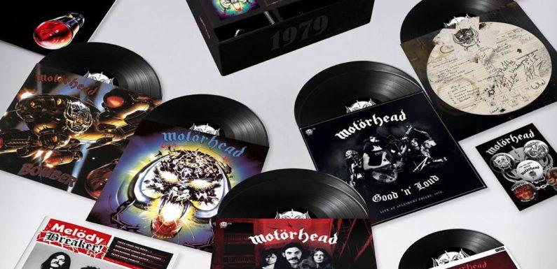 Motorhead выпустит юбилейный бокс-сет с раритетными записями