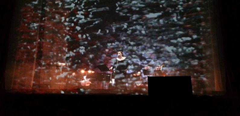 Латвийское меццо Илона Багеле спела танго Пьяццоллы
