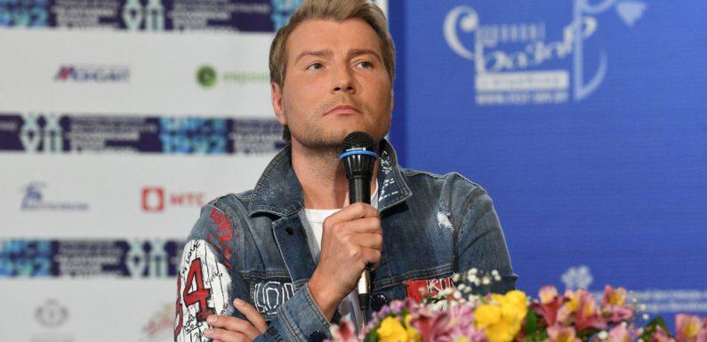 Николай Басков оплакивает отца
