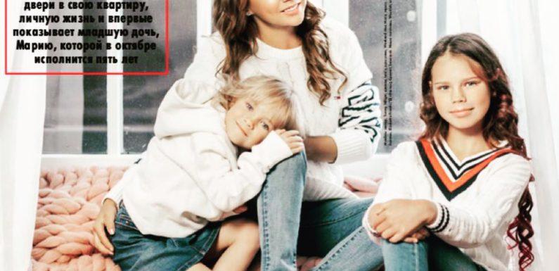 МакSим впервые опубликовала фото своей дочери Маши