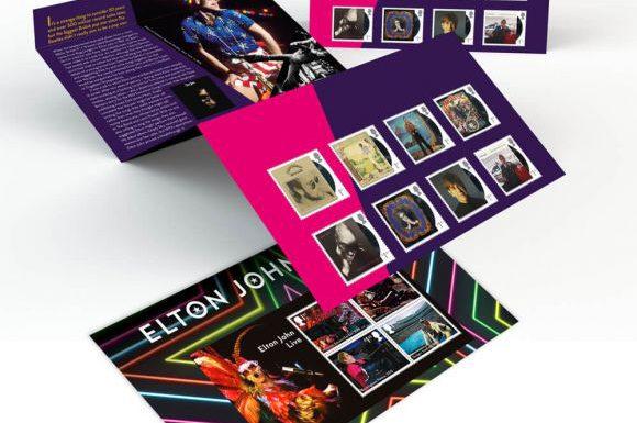 В честь Элтона Джона выпустили почтовые марки