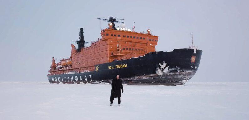 Митя Фомин снял клип в Арктике с артистами Большого театра