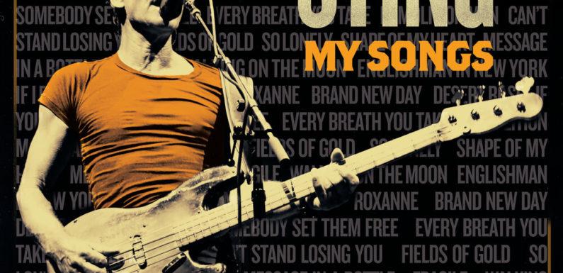 Стинг выпустит концертную версию «My Songs»